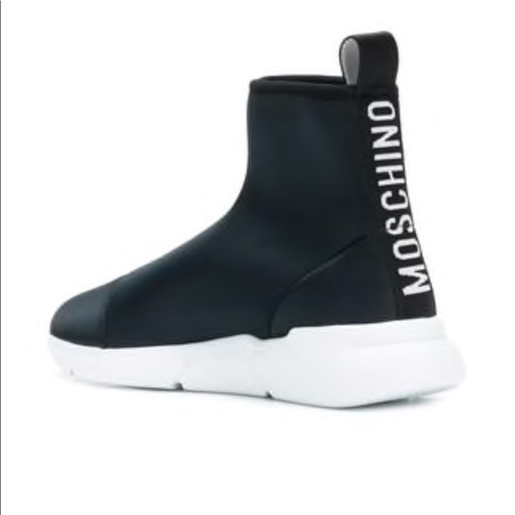 Moschino Shoes | Moschino Sock Sneakers